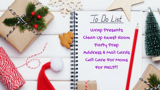 Let Care For Moms Be Your Holiday Helper!